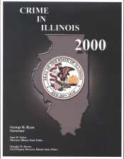 Crime in Illinois 2000 cover