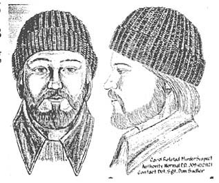 Artist's Drawing of Suspect #1